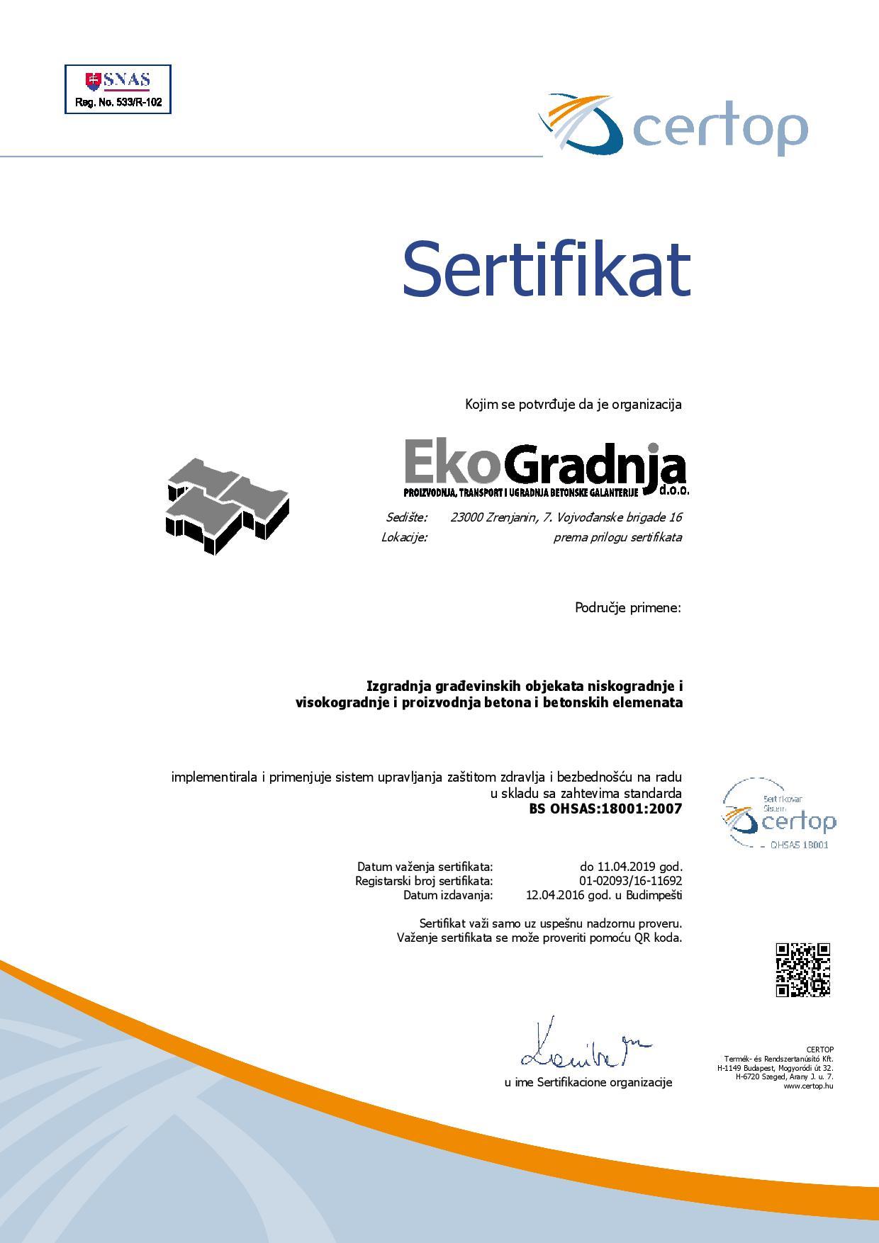 certificate-18001