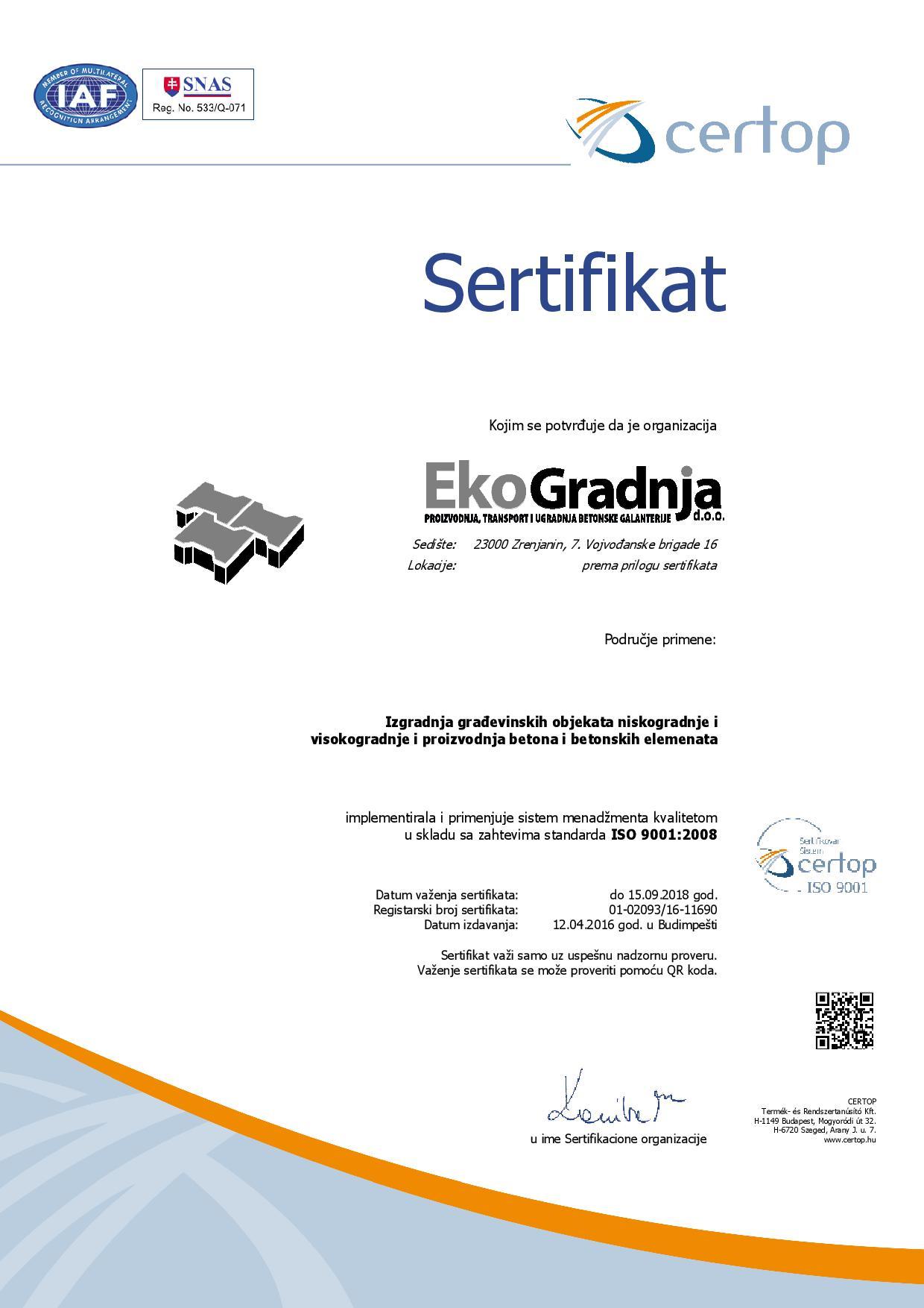 certificate-9001