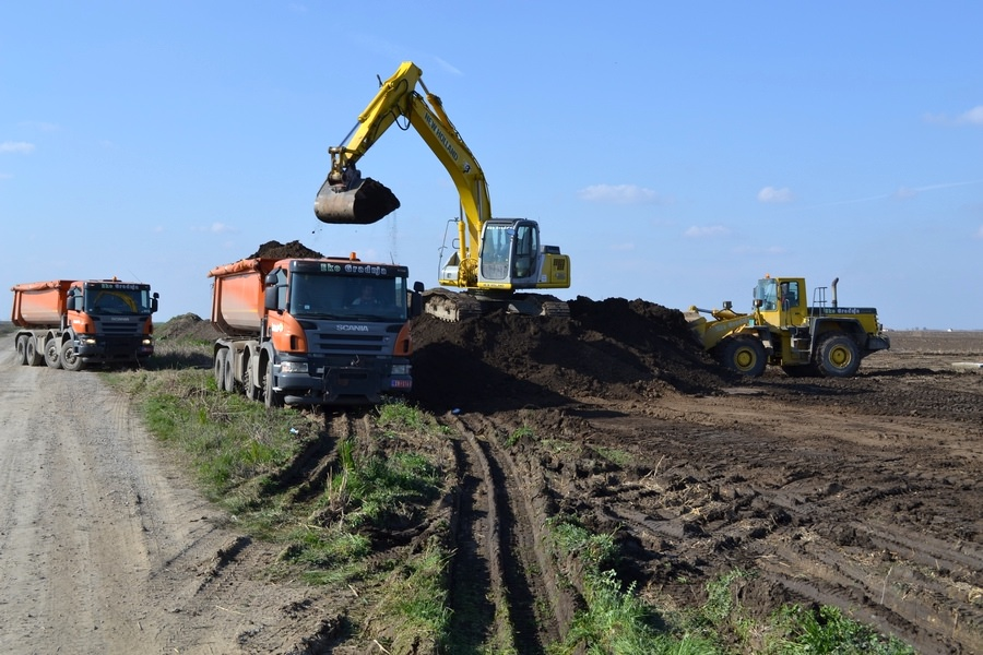 Transport rasutog građevinskog materijala 2